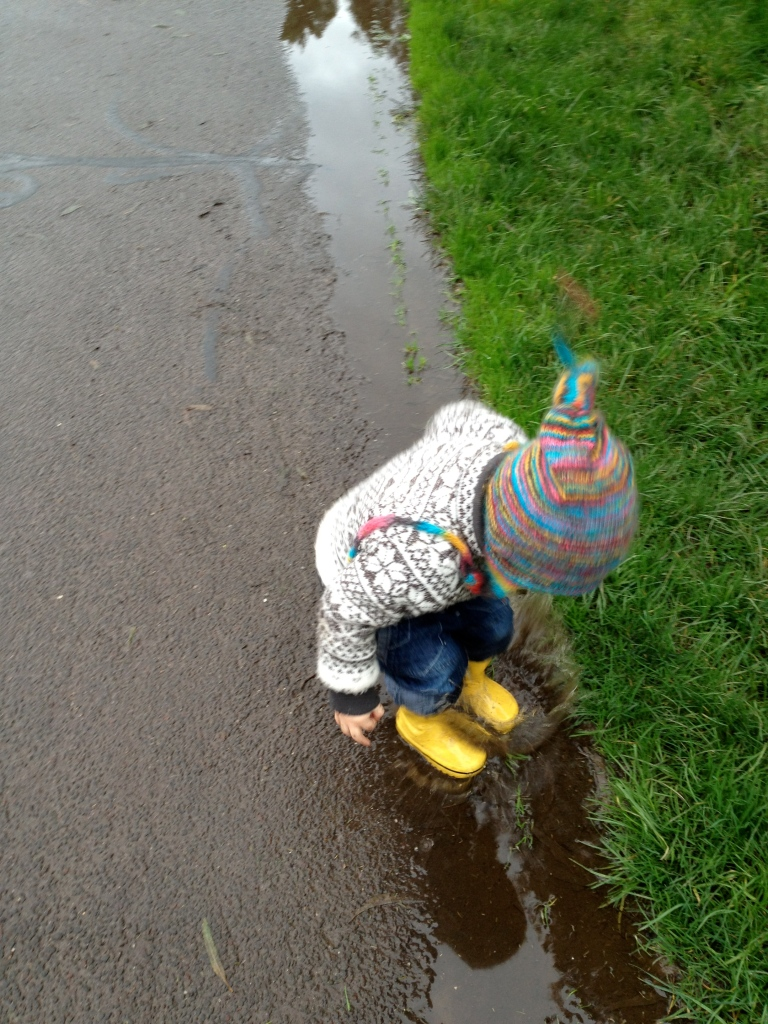 Puddle Jumping Bear